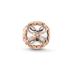 "Bead ""lotus flower"" from the Karma Beads collection in the THOMAS SABO online store"