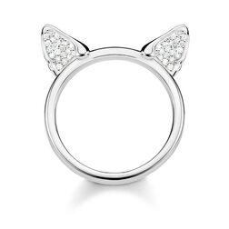 ring Cat's ears, silver from the Glam & Soul collection in the THOMAS SABO online store