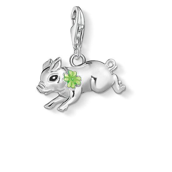 """Charm-Anhänger """"Schweinchen mit Kleeblatt"""" aus der  Kollektion im Online Shop von THOMAS SABO"""