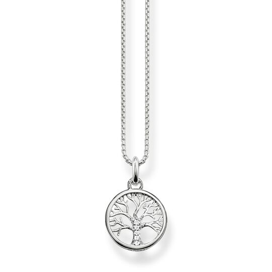 Necklace tree of love silver from the  collection in the THOMAS SABO online store