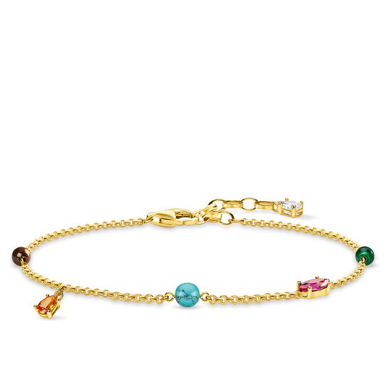 bracelet pierres multicolores de la collection Glam & Soul dans la boutique en ligne de THOMAS SABO