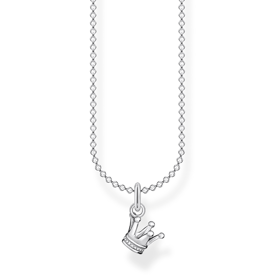 Chaîne couronne argent de la collection Charming Collection dans la boutique en ligne de THOMAS SABO