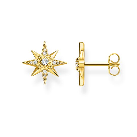 ear studs star gold from the Glam & Soul collection in the THOMAS SABO online store