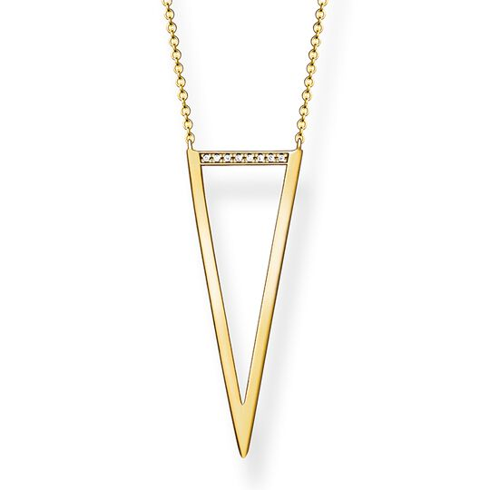 "necklace ""triangle"" from the Glam & Soul collection in the THOMAS SABO online store"