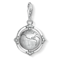 "Charm pendant ""Vintage globe"" from the  collection in the THOMAS SABO online store"
