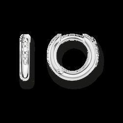 Thomas Sabo hoop earrings white CR602-643-14 Thomas Sabo QnX4tEe