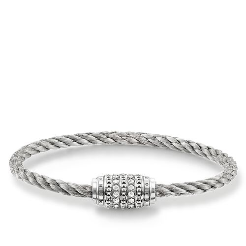 """bracelet """"white Studs"""" from the Rebel at heart collection in the THOMAS SABO online store"""
