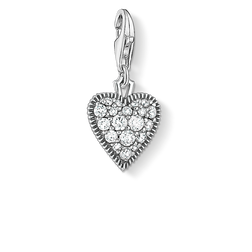 Charm pendant Vintage heart from the Charm Club Collection collection in the THOMAS SABO online store