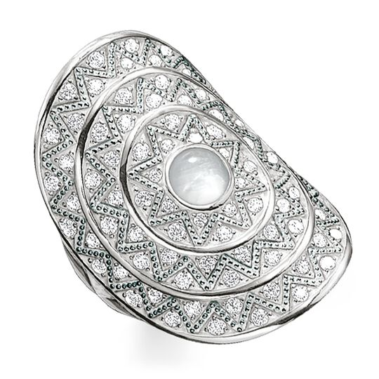 "ring ""white zig zag"" from the Glam & Soul collection in the THOMAS SABO online store"