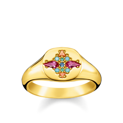 ring colourfull stones from the Glam & Soul collection in the THOMAS SABO online store