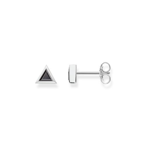 """ear studs """"Triangle Black"""" from the Glam & Soul collection in the THOMAS SABO online store"""
