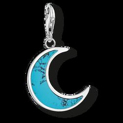 """pendentif Charm """"lune turquoise"""" de la collection  dans la boutique en ligne de THOMAS SABO"""