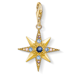 "Charm pendant ""Royalty Star"" from the Charm Club Collection collection in the THOMAS SABO online store"