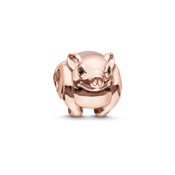 Bead pink piglet from the Karma Beads collection in the THOMAS SABO online store