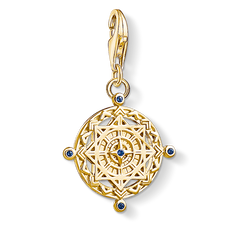 Charm pendant Vintage compass from the Charm Club Collection collection in the THOMAS SABO online store