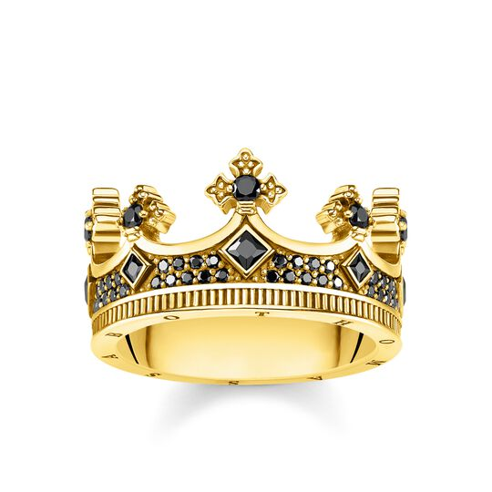 Ring Krone gold aus der Rebel at heart Kollektion im Online Shop von THOMAS SABO