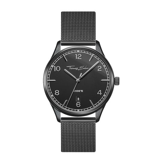 women's watch Code TS small black from the Glam & Soul collection in the THOMAS SABO online store