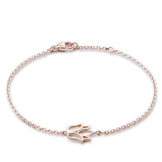 "bracelet ""fleur de lotus"" de la collection Glam & Soul dans la boutique en ligne de THOMAS SABO"