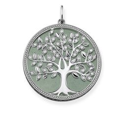 "pendant ""Green Tree of Love"" from the Glam & Soul collection in the THOMAS SABO online store"