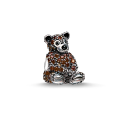 """Bead """"brown bear"""" from the Karma Beads collection in the THOMAS SABO online store"""