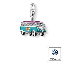 """pendentif Charm """"minibus VW"""" de la collection  dans la boutique en ligne de THOMAS SABO"""