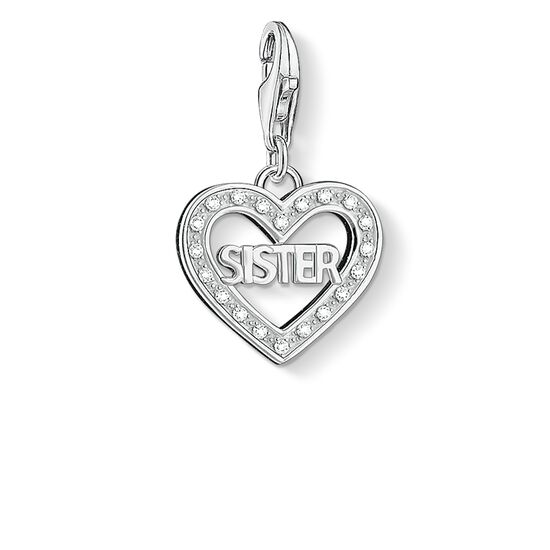 "ciondolo Charm ""SISTER"" from the  collection in the THOMAS SABO online store"
