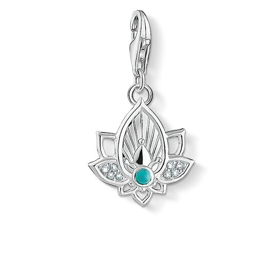 """Charm pendant """"lotus flower"""" from the  collection in the THOMAS SABO online store"""