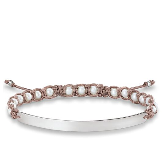 bracelet white from the Love Bridge collection in the THOMAS SABO online store