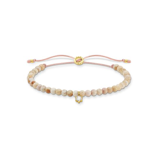 Bracelet pearls with white stone from the Charming Collection collection in the THOMAS SABO online store
