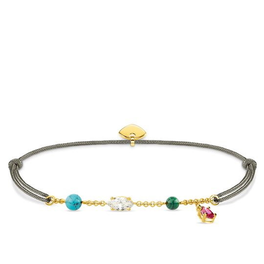 "bracelet ""Little Secret Colourful Stones"" from the Glam & Soul collection in the THOMAS SABO online store"