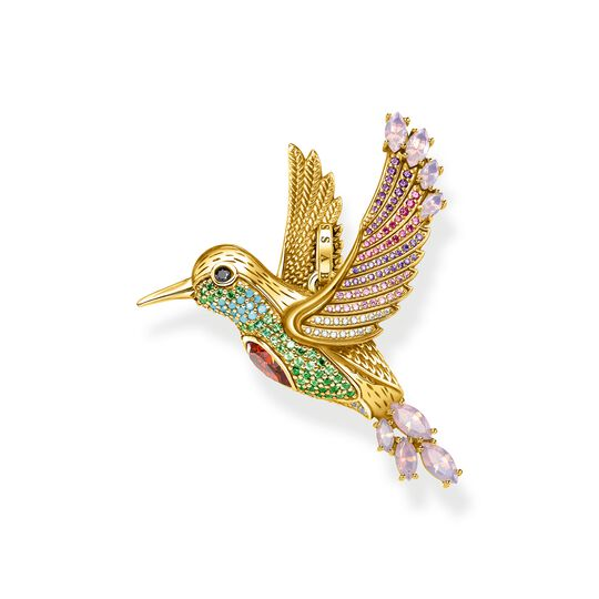 pendant colourful hummingbird gold from the  collection in the THOMAS SABO online store