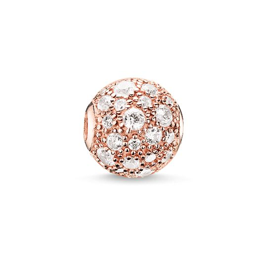 Bead crushed pavé from the Karma Beads collection in the THOMAS SABO online store