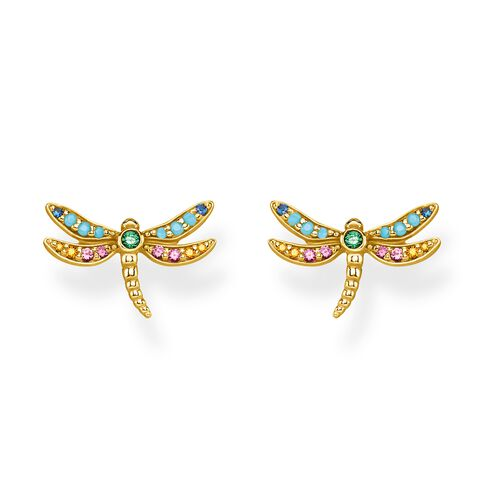 """ear studs """"dragonfly"""" from the Glam & Soul collection in the THOMAS SABO online store"""