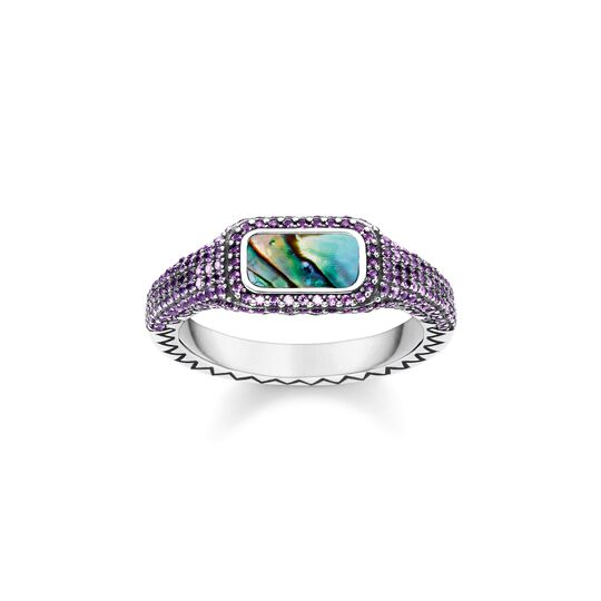 ring colourful purple from the  collection in the THOMAS SABO online store