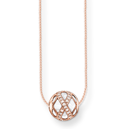 "necklace ""infinity"" from the Karma Beads collection in the THOMAS SABO online store"