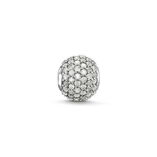 Bead pavé de diamantes blanco de la colección Karma Beads en la tienda online de THOMAS SABO