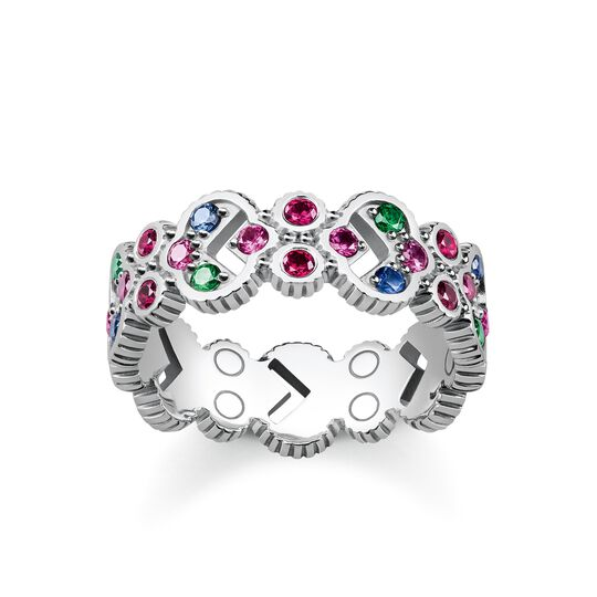 "ring ""Royalty Colourful Stones"" from the Glam & Soul collection in the THOMAS SABO online store"