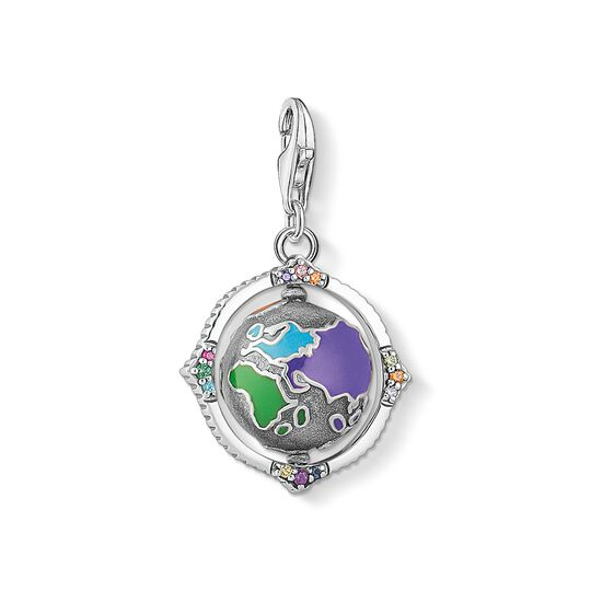 pendentif Charm vintage globe terrestre multicolore de la collection Charm Club dans la boutique en ligne de THOMAS SABO