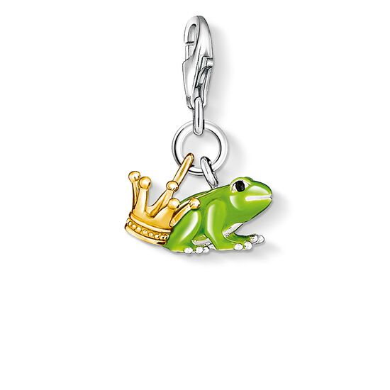 "Charm pendant ""Frog Prince"" from the  collection in the THOMAS SABO online store"