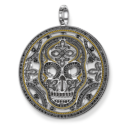 "pendant ""diamond skull"" from the Rebel at heart collection in the THOMAS SABO online store"