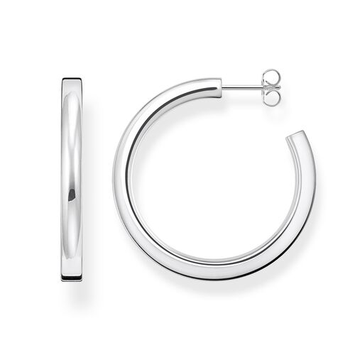 """hoop earrings """"classic medium"""" from the Glam & Soul collection in the THOMAS SABO online store"""