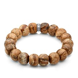 power bracelet brown, beige from the Rebel at heart collection in the THOMAS SABO online store