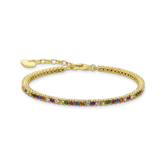 Bracelet colourful stones, silver from the  collection in the THOMAS SABO online store