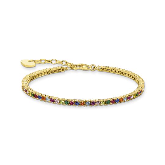 Bracelet colourful stones, silver from the Glam & Soul collection in the THOMAS SABO online store