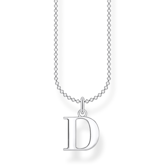 Necklace letter D from the Charming Collection collection in the THOMAS SABO online store