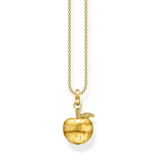 Necklace apple gold from the  collection in the THOMAS SABO online store