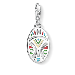 "Charm pendant ""African mask"" from the  collection in the THOMAS SABO online store"