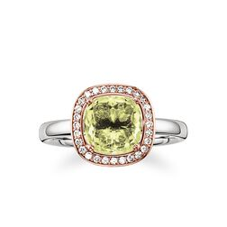 """solitaire ring """"green"""" from the Glam & Soul collection in the THOMAS SABO online store"""