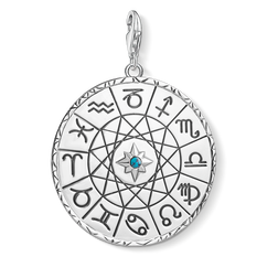 Charm pendant Star sign coin silver from the  collection in the THOMAS SABO online store