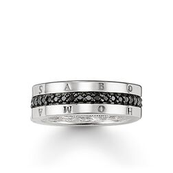 """eternity ring """"classic black"""" from the Glam & Soul collection in the THOMAS SABO online store"""